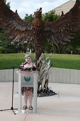 Phoenix Sculpture Dedication-4