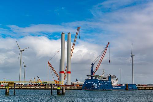 Wind Turbines in Netherlands .