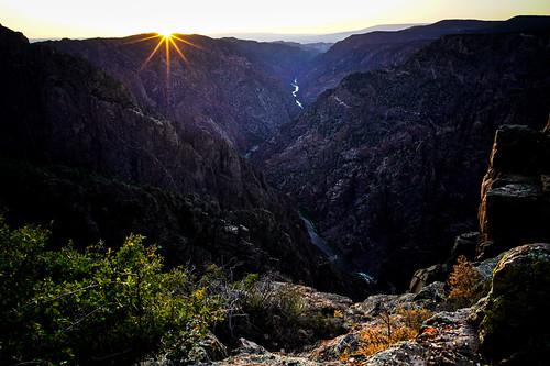Sunset - Black Canyon of Gunnison National Park[Explored]