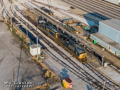 CSXT 476 | GE AC4400CW | CSX Leewood Yard