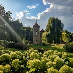Die romantische Burg Hülshoff