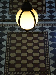 Tiles and Lamp