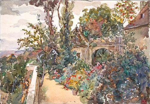 La Chabanne de Marie Bracquemond (Musée d'Orsay, Paris)