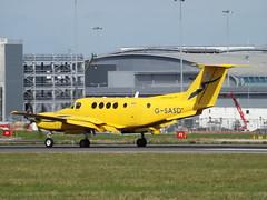 G-SASD Raytheon Beech Super King Air 200 (Gama Aviation Ltd)