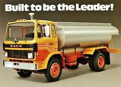 1979 Mack Mid-Liner Tanker Truck