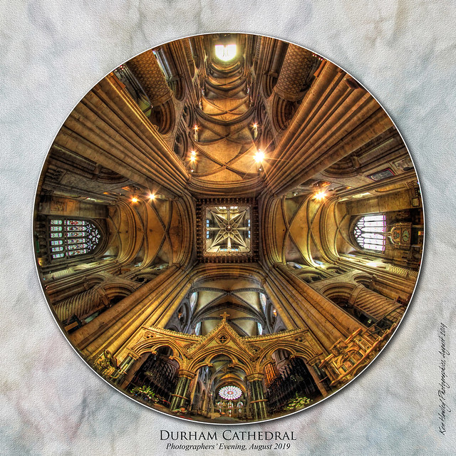 Durham Cathedral Fisheye