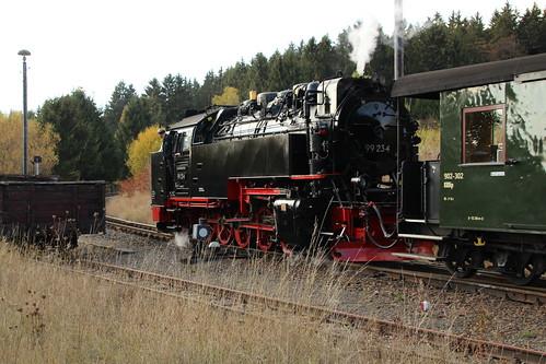 2018-10-21; 0134. HSB 99 234 met GmP Sonderzug. Benneckenstein.