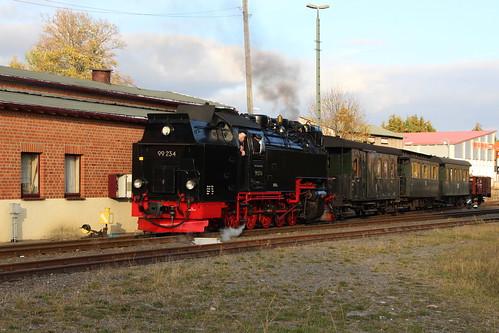 2018-10-21; 0144. HSB 99 234 met GmP Sonderzug. Benneckenstein.