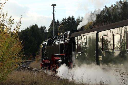2018-10-21; 0140. HSB 99 234 met GmP Sonderzug. Benneckenstein.