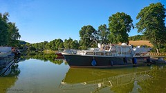 Canal de Bourgogne. - Photo of Auxant