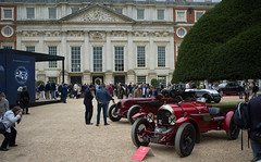 3 Litre Blower Bentley Hampton Court Palace Concours Elegance september 2019