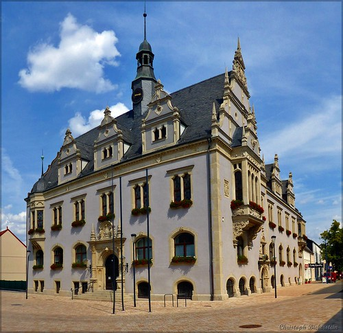 Rathaus in Schönebeck an der Elbe