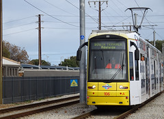 Tram Heading to South Terrace
