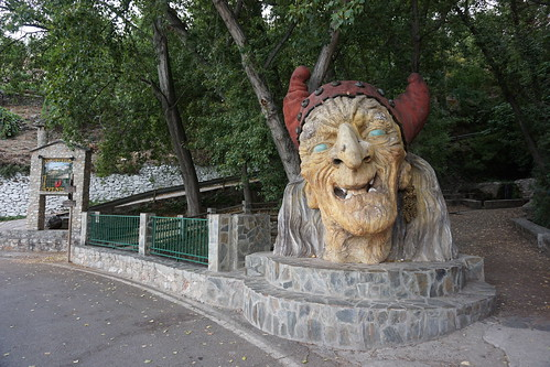 Cabeza gigante de Baba Yaga