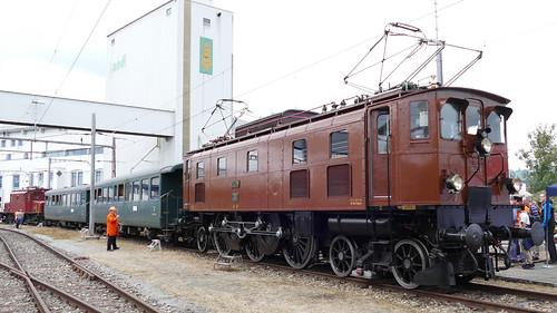 Ae 3/6 II 10439 SBB Historic Hochdorf Switzerland