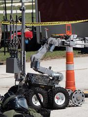 Bomb Squad Explosives Robot