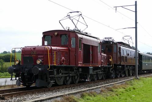Seetalkrokodil OeBB De 6/6 15301 & SBB Ae 3/6 II 10439 Hochdorf Switzerland