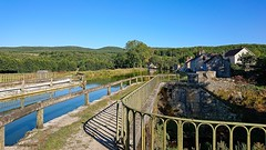 Pont-Canal. Canal de Bourgogne / Ouche. - Photo of Bligny-sur-Ouche