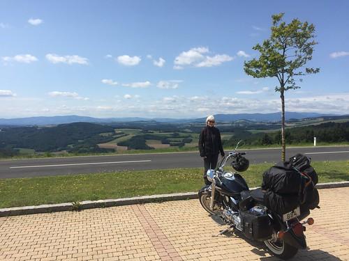 På vej til Ptuj i Slovenien