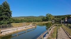 Canal de Bourgogne. - Photo of Bessey-la-Cour