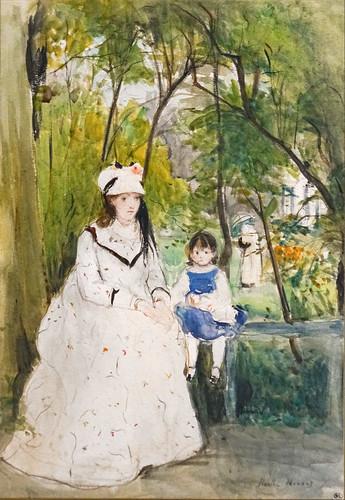 Edma et Blanche Pontillon de Berthe Morisot (Musée d'Orsay, Paris)