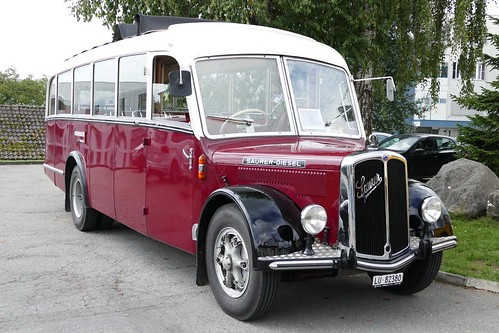 Saurer Bus Switzerland