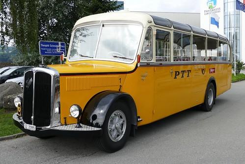 Saurer Postauto Bus Switzerland