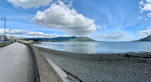 Carlingford Lough Panorama from Warrenpoint