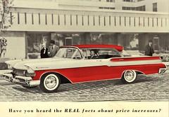 1957 Mercury Monterey 4-Door Hardtop