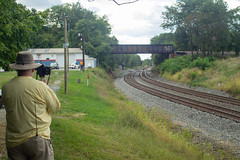 Mr. Davies at work, Shenandoah Junction, WV
