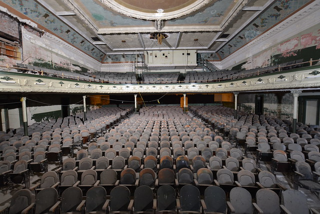 Orpheum Theater, New Bedford, MA, Seating Capacity 1,500
