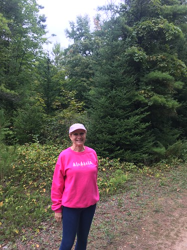 Kathy Underwood @ Whitefish Dunes Red Trail Hike