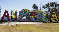 Australia sign from EXPO 88=