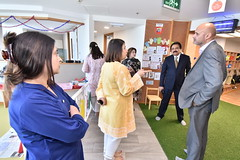 Mr. Mark Rakestraw, DHM British High Commission, Visit to Engro Head Office with Zarkhez Plant Manager  Engro Fertilizers Limited Specialty Fertilizers Wajid Hussain Junejo