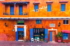 Iconic house in Cartagena de Indias/Colombia