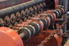 old felt hat factory machine
