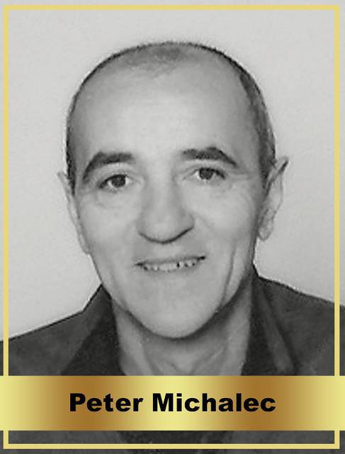 Peter Michalec - člen Siene Slávy