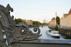 View from Weidendammer Bridge