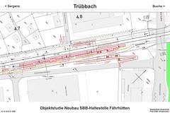 SBB Trübbach - Fährhütten