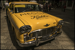 NYC Yellow Cab in Brisbane Mall=