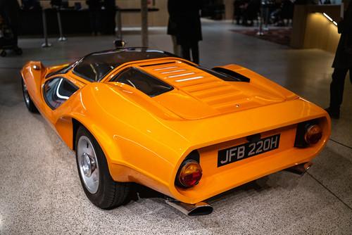 Clockwork Orange car, Design Museum, London, England, UK