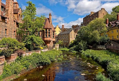 Edinburgh / Dean Village / Water of Leith