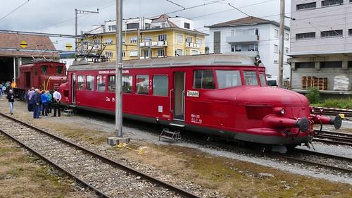 OeBB RBe  2/4 202 roter Pfeil Remisenfest Hochdorf Switzerland 2019