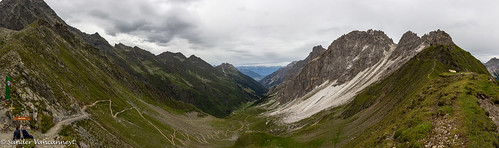 Pinnistal panorama from the Pinnisjoch