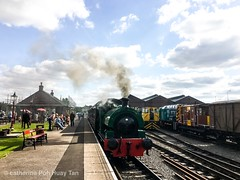 Brownhill steam Train station,  Chase Water, Brownhill, England