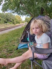 Iva, Trackside, Shenandoah Junction, WV