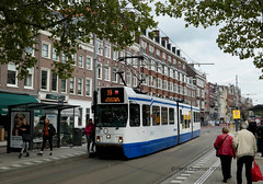 Amsterdam trams 2019
