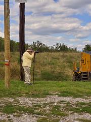 Mr. Davies Shoots the DPU on N785, Shenandoah Junction, WV