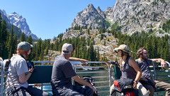 Image by Alex Butterfield (apbutterfield) and image name Farewell Teton Crest Trail photo  about Jenny Lake shuttle boat