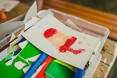 Ice Cream Greeting Card Handmade